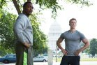 Anthony Mackie, Chris Evans, Captain America: The Winter Soldier