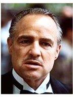 """The Godfather"" Movie Still: Marlon Brando"