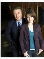 (l-r) Tina Fey as Liz Lemon, Alec Baldwin as Jack Donaghy in NBC's 30 Rock