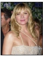 Kim Cattrall at the HBO party following the 55th Annual Primetime Emmy Awards