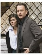 The Da Vinci Code Movie Stills:  Audrey Tautou and Tom Hanks