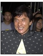 Jackie Chan at the Rush Hour 2 premiere