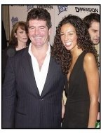 "Simon Cowell and Terri Seymour at the ""Scary Movie 3"" premiere"