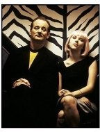 """""""Lost in Translation"""" Movie Still: Bill Murray (left) and Scarlett Johansson"""
