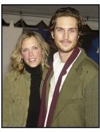 "Oliver Hudson and Erin Bartlett at the ""Miracle"" premiere"