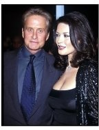 Michael Douglas and Catherine Zeta-Jones at Wonder Boys Premiere