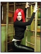 Alias ABC TV Series: Jennifer Garner in red wig