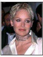"Sharon Stone at the ""Antz"" Premiere"