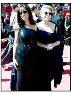 Melissa and Joan Rivers at the 2000 Emmy Awards
