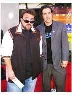 "Kevin Smith and Jason Mewes at ""The Bourne Supremacy"" Premiere"