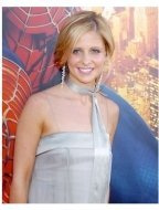 "Sarah Michelle Gellar at the ""Spiderman 2"" premiere"