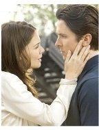 Batman Begins Movie Stills: Katie Homes and Christian Bale