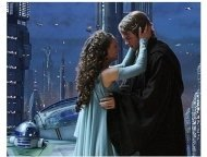 Star Wars: Episode III-Revenge of the Sith Movie Stills: Natalie Portman and Hayden Christensen