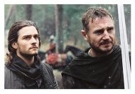 Kingdom of Heaven Movie Stills: Orlando Bloom and Liam Neeson