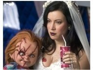 Seed Of Chucky Movie Still: Chucky and Jennifer Tilly