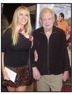 "Rodney Dangerfield and wife Joan Child at the ""50 First Dates"" Premiere"