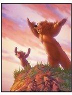 """""""Brother Bear"""" Movie Still: Koda and Kenai"""