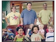 """Daddy Day Care"" Movie Still: Steve Zahn, Jeff Garlin and Eddie Murphy"