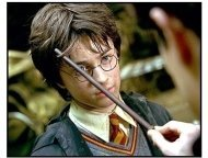 """Harry Potter and the Chamber of Secrets movie still: Daniel Radcliffe is Harry Potter in """"Harry Potter and the Chamber of Secrets"""""""