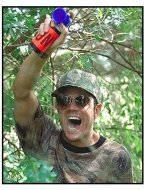 Jackass: The Movie movie still: Johnny Knoxville in Jackass: The Movie