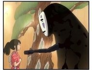 Spirited Away movie still: Chihiro is voiced by Daveigh Chase