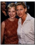 "Anne Heche and Ellen DeGeneres at the ""Face Off"" Premiere"