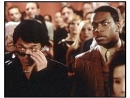 Rush Hour 2 movie still: Jackie Chan and Chris Tucker