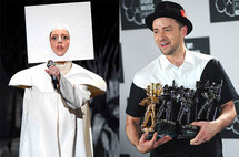 Lady Gaga and Justin Timberlake