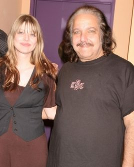 Amber Benson and Ron Jeremy