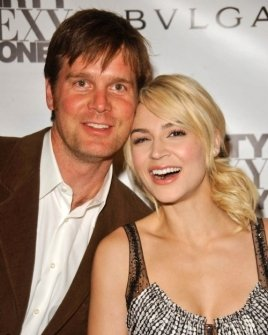 Peter Krause and Samaire Armstrong
