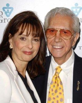 Barbara Firestone and Mr. Blackwell