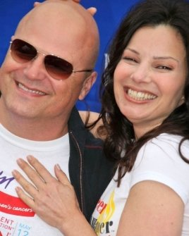 Michael Chiklis and Fran Drescher