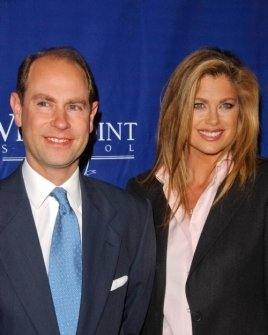 Prince Edward Earl of Wessex and Kathy Ireland