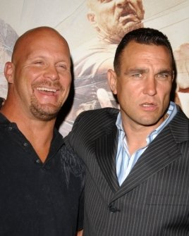 Steve Austin and Vinnie Jones