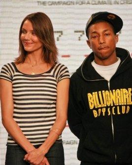 Cameron Diaz and Pharrell Williams