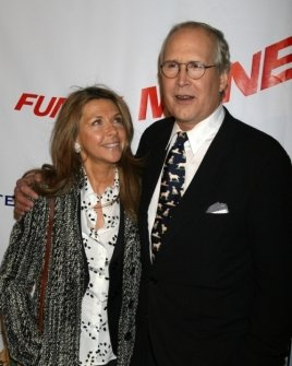 Chevy Chase and wife Jaynie