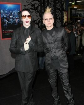 Marilyn Manson and Tim Skold