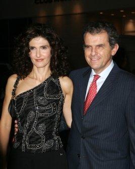 Ferrucio Ferragamo and friend