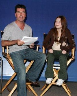 Simon Cowell and Bianca Ryan
