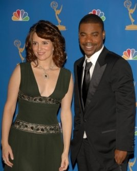 Tina Fey and Tracy Morgan