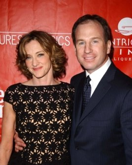 Joan Cusack and Richard Burke