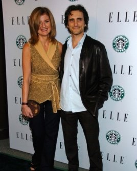 Arianna Huffington and friend