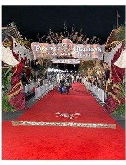 Red Carpet Premiere held at Disneyland