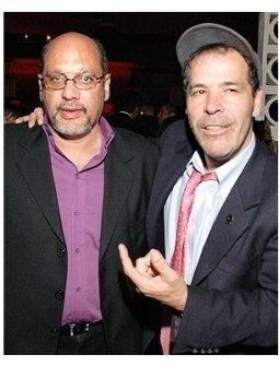 Randy Credico and Tony Papas