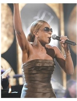 Hollywood Meets Motown:  Mary J. Blige