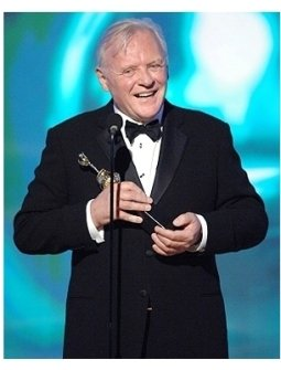 63rd Golden Globes Stage Photos: Anthony Hopkins
