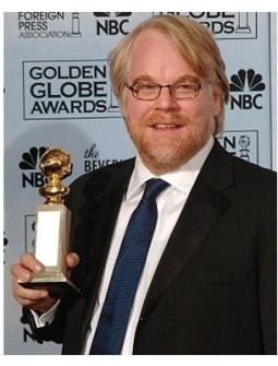 63rd Golden Globes Backstage Photos: Philip Seymour Hoffman