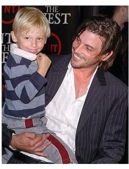 Into the West Premiere: Skeet Ulrich and son