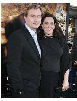 Batman Begins Premiere: Christopher Nolan and Emma Thomas