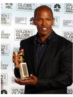 Jamie Foxx at the 62nd Annual Golden Globe Awards: Press Room